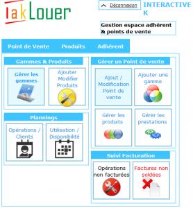 Accueil Commercant Iaklouer Location Vente logiciel